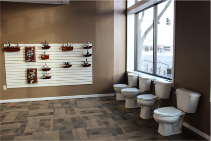 Faucet Showroom Norfolk Nebraska
